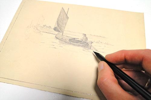 Bild zum Zeichen- und Schreibworkshop
